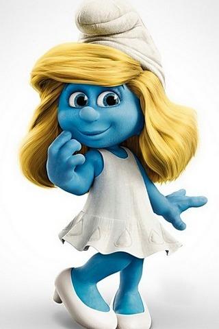 Smurf Girl