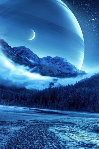 Saturn Near Earth