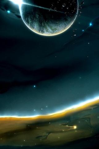 Comet-Planet
