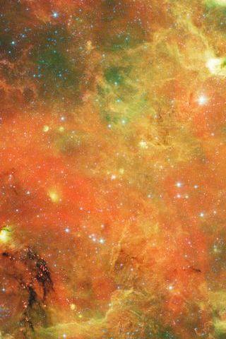 Orange Galaxy