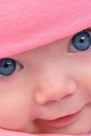 Cute Blue Eye Baby