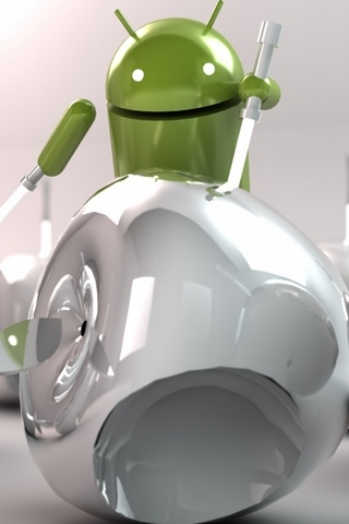 Android Kampf Apple