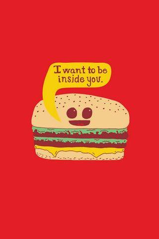Kawaii Hamburger
