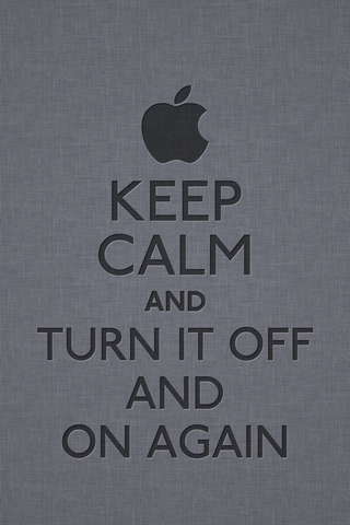 Keep Calm And Turn It Off