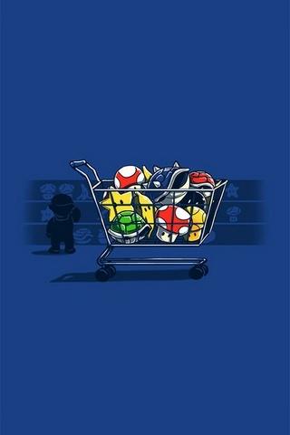 Zakupy Mario