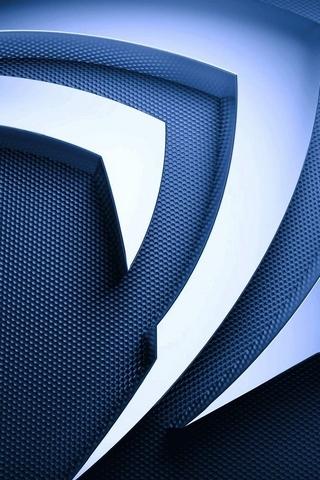 Logo 3D Metal Nvidia