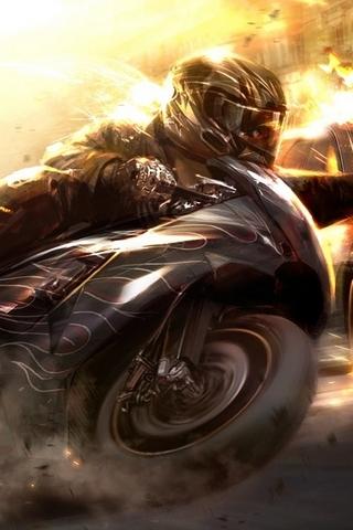 Fire Wheelman