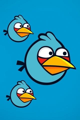 파란 성난 새