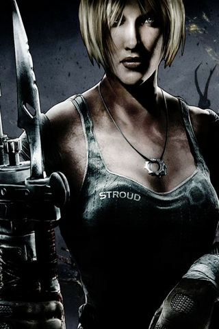 Gears Of War 3 Anya Stroud