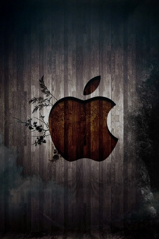Nature Apple Logo - IPhone5