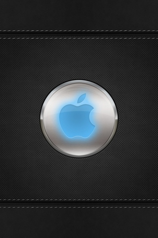 Blue-Glow-Apple-Logo