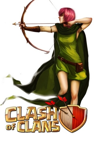 Archer Clash Of Clan