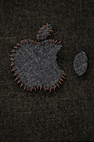 Jeans Apple Logo - IPhone5