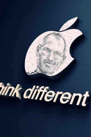 Apple Logo Steve Jobs Think Different