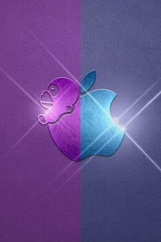 Фіолетовий і синій