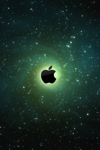 Galaxy Apple Logos - IPhone5