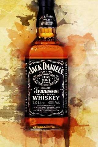 Jack Daniels Bottle - IPhone5