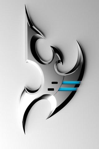 Silver-Металл-StarCraft