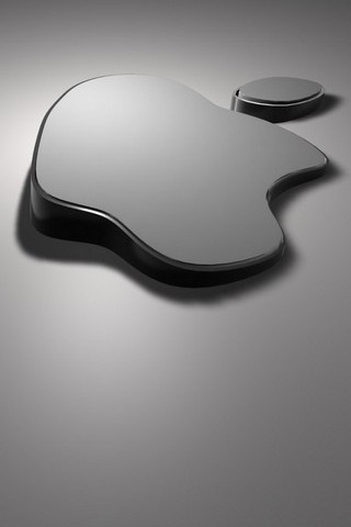 Grey Apple Logo