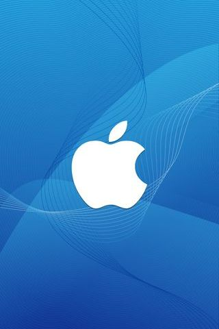 Apple-Logo-In-Wave