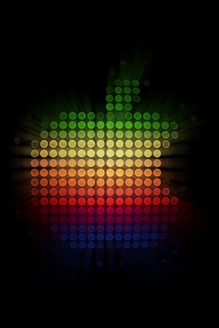 Colorful-Dots-Apple-Logo