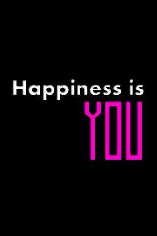 La felicità sei tu