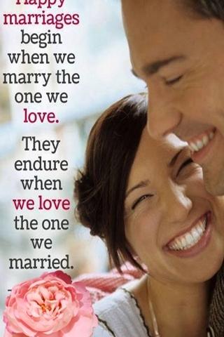 Felice matrimonio