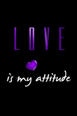 사랑은 나의 태도 다.