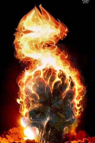 炎のスカル