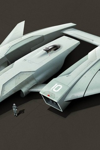 Spaceship 3D Artwork