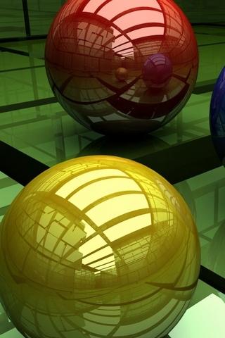 3 3D Spheres