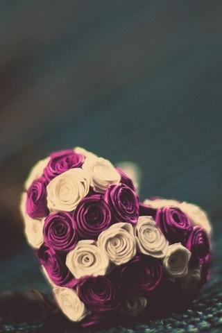 Roses-Heart