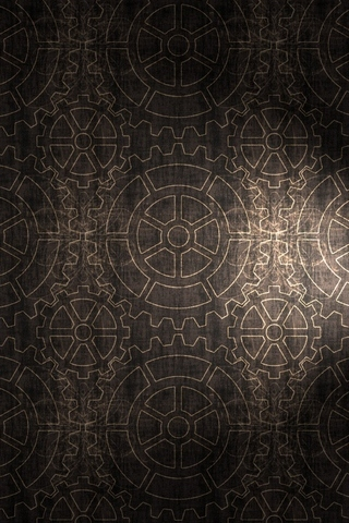 Gears Pattern Background