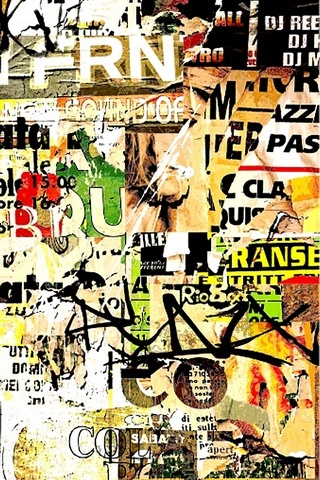 Graffiti Wallpaper - IPhone5