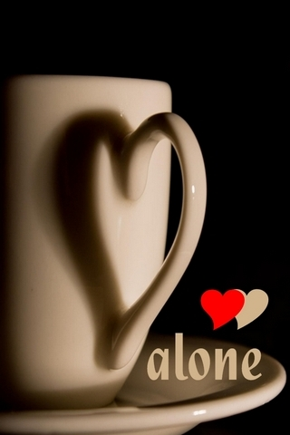 Café sozinho