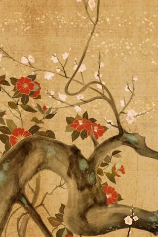 Oriental Cherry Tree Artistic