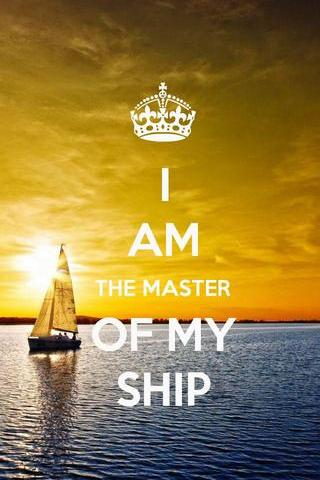 I'm The Master Of Ship