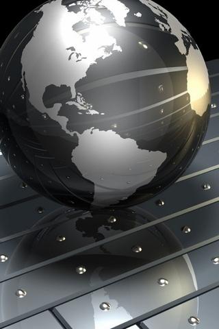 Сталевий глобус