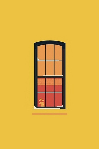 Orange Window