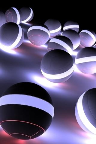 Neon Flash Balls