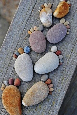 Stone-footprints