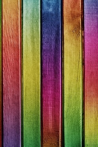 Colorful Wood - IPhone5