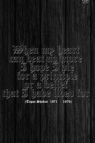When My Heart ... ( Tupac Shakur )