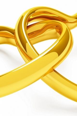 Anéis de coração