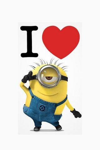 I Heart Minion