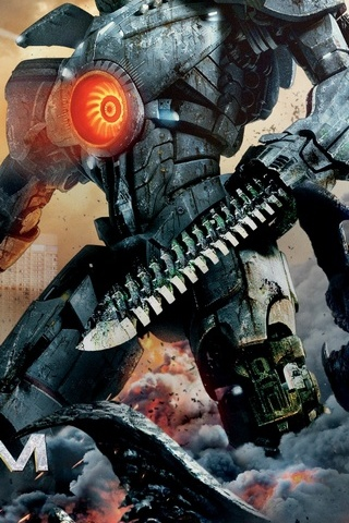Gipsy Danger In Action