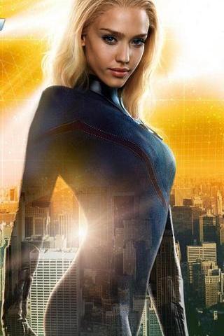 Fantastic Four- Jessica Alba