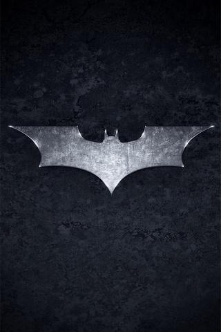 圆滑的蝙蝠侠标志