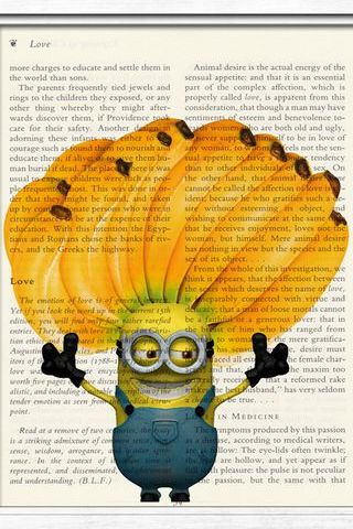 Minion Notebook Banana Doodle III