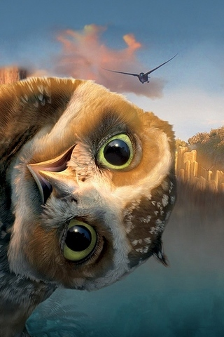 Legend Guardians Owl
